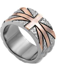Stephen Webster - Alchemy In The Uk Silver Union Jack Ring - Lyst