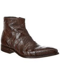 Jo Ghost Leather Boot - Brown