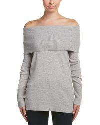 Quinn - Qi Cashmere Off-the-shoulder Tube Tunic - Lyst