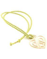 Poiray 18k 0.68 Ct. Tw. Diamond Toggle Necklace - Metallic