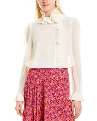Anna Sui - Georgette Blouse - Lyst