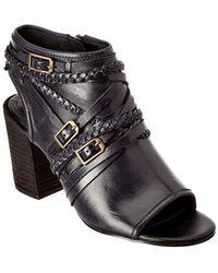 Isola Leonora Leather Sandal - Black