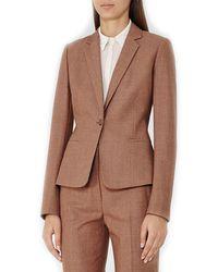 Reiss - Hanako Wool-blend Jacket - Lyst