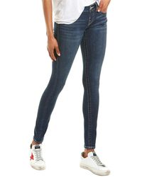 True Religion Stella Flap True Elegance Skinny Leg - Blue