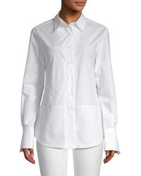 White Story - Samantha X Solid Shirt - Lyst