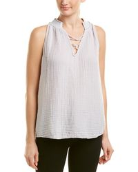 Michael Stars - Embroidered Swing Tank - Lyst