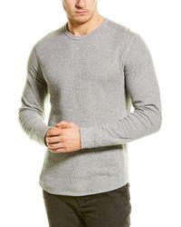 Vince Double Knit T-shirt - Gray