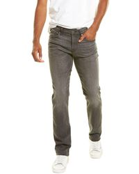 7 For All Mankind 7 For All Mankind Slimmy Squiggle Sabotage Slim Leg Jean - Grey