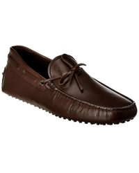 Tod's Tods Gommino Leather Loafer - Brown
