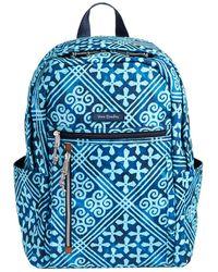 Vera Bradley - Cuban Tiles Lighten Up Small Backpack - Lyst