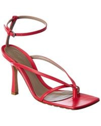 Bottega Veneta Stretch Leather Sandal - Pink