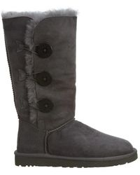 6e2bf3654bb Bialey Button Triplet Suede Snow Boot - Gray