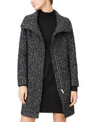 Club Monaco Darelle Wool-blend Coat - Black