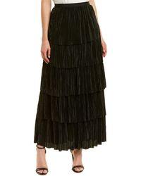 BB Dakota All That Jazz Maxi Skirt - Black