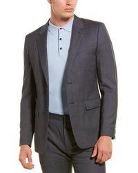 Theory Chambers Austell Wool Jacket - Grey