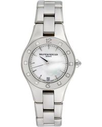 Baume & Mercier Baume & Mercier 2000s Women's Linea Casual Style Diamond Watch - Metallic