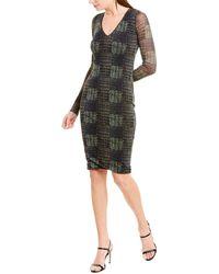 Fuzzi Sheath Dress - Gray