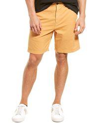 Billy Reid Chino Short - Orange