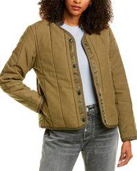 Rag & Bone Liner Quilted Jacket - Green