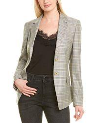 ESCADA Brikenanti Wool & Silk-blend Blazer - Yellow