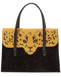 Charlotte Olympia - Fierce Embellished Tote - Lyst