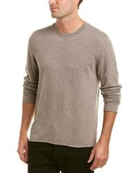 Vince - Crew Cashmere Sweater - Lyst