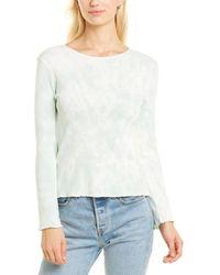 LoveShackFancy Hand Dyed Shirt - White