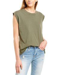 Frank & Eileen Vintage Muscle T-shirt - Green
