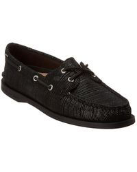 Sperry Top-Sider A/o Boat Shoe - Black