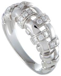 Tiffany & Co. 18k 0.36 Ct. Tw. Diamond Ring - Metallic