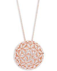 Adriana Orsini - Anise Crystal Sphere Necklace - Lyst