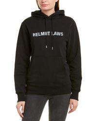 Helmut Lang Helmut Laws Logo-print Hoodie - Black