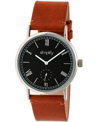Simplify Unisex The 5100 Watch - Multicolour