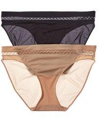 Le Mystere 2pk Modern Bikini - Black