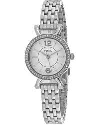 Fossil Georgia Cordell Watch - Metallic