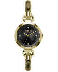 Versus Women's Roslyn Mesh Watch - Metallic
