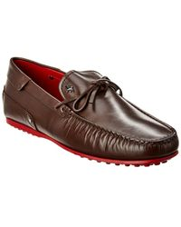 Tod's Leather Gommino Loafer - Brown
