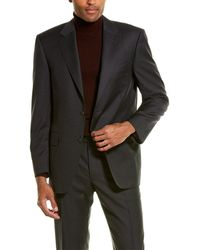 Canali 2pc Wool Suit - Black