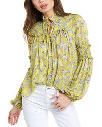 Alexis Zaria Top - Yellow