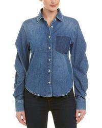 Jonathan Simkhai Denim Shirt - Blue