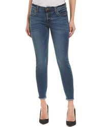 Kut From The Kloth Royal Wash Ankle Skinny Leg - Blue