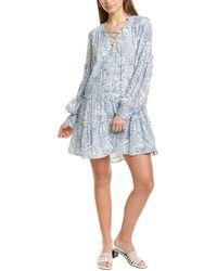 Parker - Hays Silk Mini Dress - Lyst