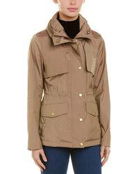 Cole Haan Packable Rain Jacket - Natural