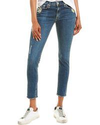 Rag & Bone Jeans - The Skinny In La Paz - Blue