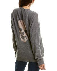Skull Cashmere Cammeline Cashmere Sweater - Gray