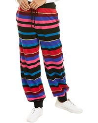 Ronny Kobo Ronny Wool & Cashmere-blend Jogger Pant - Red