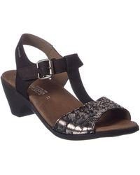 Mephisto - Carine Leather Sandal - Lyst
