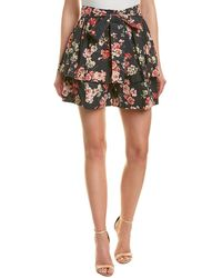 Jill Stuart Mini Skirt - Black