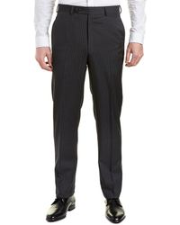 Brooks Brothers - Regent Fit Wool Trouser - Lyst