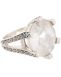 Stephen Dweck - Core Silver Gemstone & Pearl Ring - Lyst